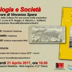 Presentazione a Napoli di 'Antropologia e Società. Studi in onore di Vincenzo Spera' e di NuovoMeridionalismoStudi.it