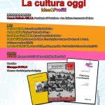 """""""La Cultura oggi"""", evento a Napoli – lunedì 12 marzo 2018 ore 15.30"""
