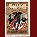 Italy our Ally. La propaganda culturale italiana in Gran Bretagna durante la Prima Guerra Mondiale (1915-1918). Nuova pubblicazione per Veronica De Sanctis