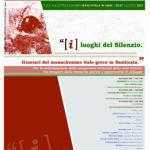"""""""I Luoghi del silenzio. Itinerari del monachesimo italo-greco in Basilicata"""". Evento il 5 agosto 2021"""